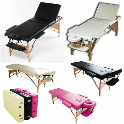 Massage Table Bed Portable Beauty Couch Professional Folding Lightweight Salon • 67.99£