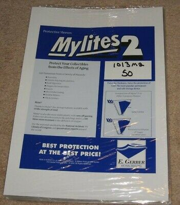 $63.62 • Buy Pack / 50 Mylites 2 Mil Mylar Playboy Magazine / 10x13 Book Bags Sleeves