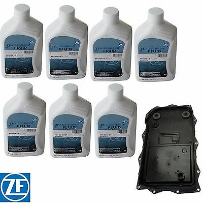 $224.97 • Buy For BMW E70 F15 X5 F25 X3 F01 Automatic Transmission Filter Kit 7 Liters ATF ZF