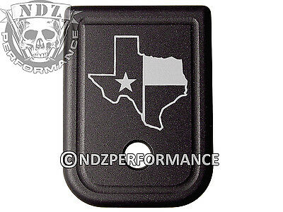 $19.99 • Buy For Glock Magazine Plate 17 19 22 23 26 27 34 35 9mm 40cal Texas State Border 2