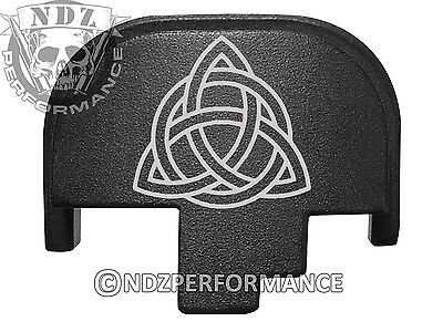 $19.99 • Buy For Smith Wesson S&W M&P 9 40 45 Rear Slide Back Plate Blk Celtic Knot