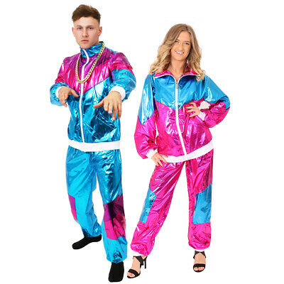 Shell Suit Fancy Dress Costume 80's Chav Outfit Scouse 1980's Track Suit Stag Do • 19.99£