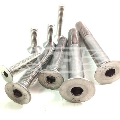 £3.39 • Buy M3 M4 M5 M6 M8 M10 A4 Marine Grade Stainless Steel Socket Countersunk Bolts
