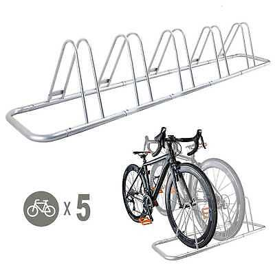 AU49.90 • Buy 1 - 5 Bike Floor Parking Rack Storage Stand Bicycle
