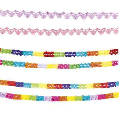 Pack Of 2 Mini PAPER GARLAND Party Decorations (2.5m) {Boland} (Banner/Bunting) • 2.99£