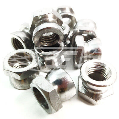 £4.59 • Buy M6 M8 M10 M12 Security Shear Nuts A2 Stainless Use With Our Saddle / T Head Bolt