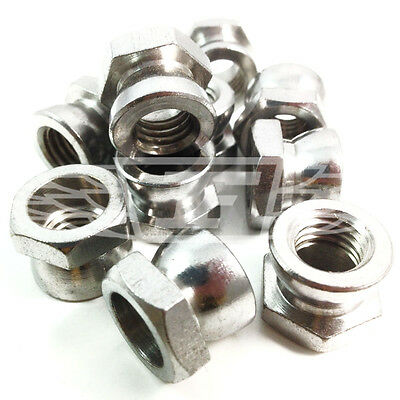 £3.39 • Buy M8 Security Shear Nuts A2 Stainless Use With Our Saddle / T Head Bolt (ad9)