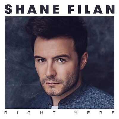 SHANE FILAN RIGHT HERE CD ALBUM (SEPTEMBER 25th 2015) • 5.99£