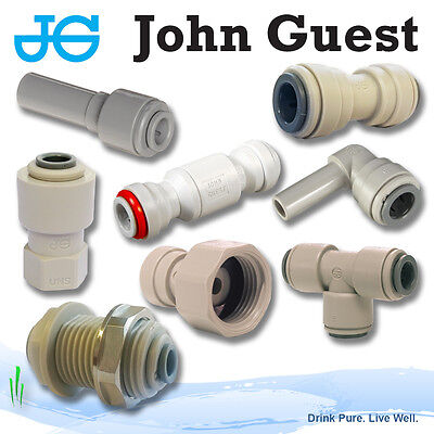 £3.50 • Buy John Guest 3/8  Push Fit Fittings Drinks, Dispense, Ro Units, Brewery