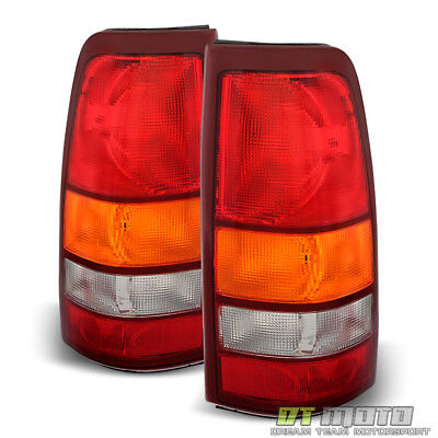 $92.99 • Buy 1999-2002 Chevy Silverado 1999-2006 GMC Sierra Replacement Tail Lights Lamps Set