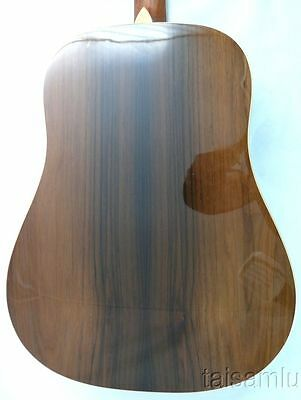 $2500 • Buy Unique Solid Spruce Top Rare Brazilian Rosewood Dreadnought Acoustic Guitar,GQ5