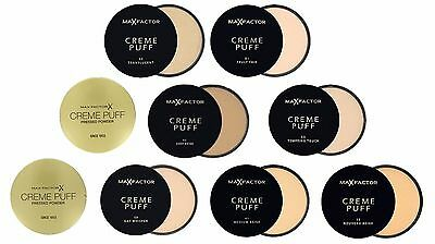 Max Factor Creme Puff Refill Compact Powder  Choose Your Option  • 4.75£