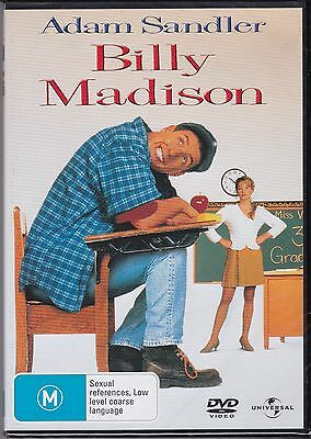 AU13.95 • Buy BILLY MADISON - Adam Sandler, Darren McGavin, Bridgette Wilson-Sampras  On DVD