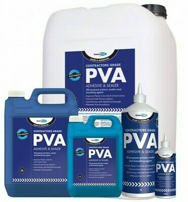 PVA Adhesive & Sealant Excellent General Purpose Glue Woodwork Arts & Crafts • 4.45£