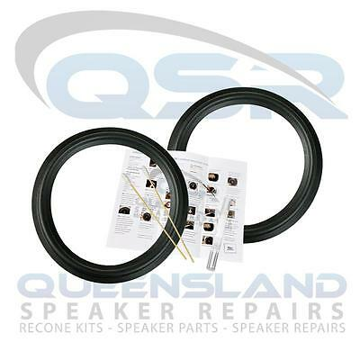 8  Rubber Surround Repair Kit To Suit JPW Speakers Vifa (RS 183-163) • 17.37£