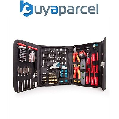 Makita P-51851 96 Piece Electricians Drill Screwdriver Tool Kit Pouch 1000W Rate • 59.99£