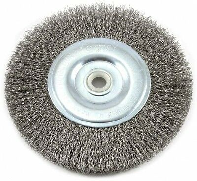 $ CDN13.35 • Buy Forney 72745 Wire Bench Wheel Brush, Coarse Crimped With 1/2-Inch And 5/8-Inch