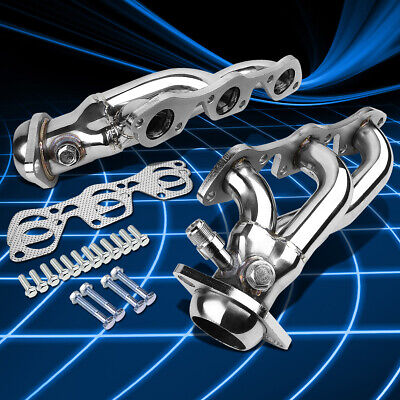 $90.88 • Buy For 97-03 Ford F150/Heritage 4.2 V6 T403 S.Steel Shorty Header Manifold Exhaust