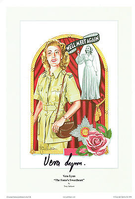 £99.99 • Buy Vera LYNN SIGNED Autograph 12x8 Photo AFTAL COA The Forces Sweetheart