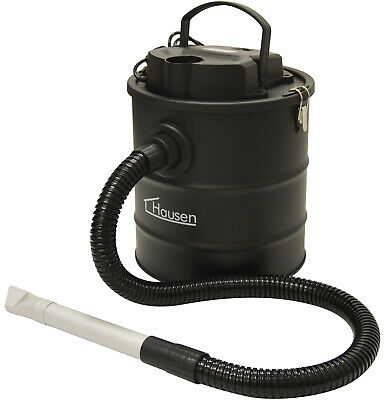 Hausen 1200W Cylinder 20L Fireplace Fire Ash Vacuum Cleaner Hoover Log Burner • 39.99£