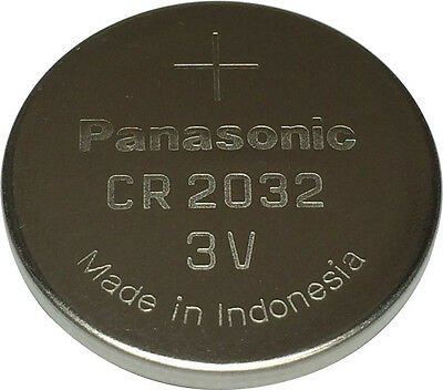 Panasonic CR2032 Lithium Coin Cell 3V Battery Car Key Fobs Toys Remote Batteries • 1.99£
