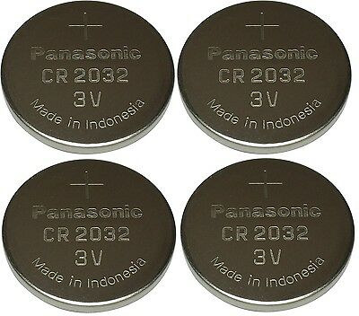 Panasonic CR2032 Lithium Coin Cell 3V Battery Car Key Fobs Toys Remote Batteries • 2.99£