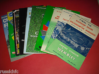 £3.99 • Buy 1960-1984 Fa Cup Final Programmes - Choose From List