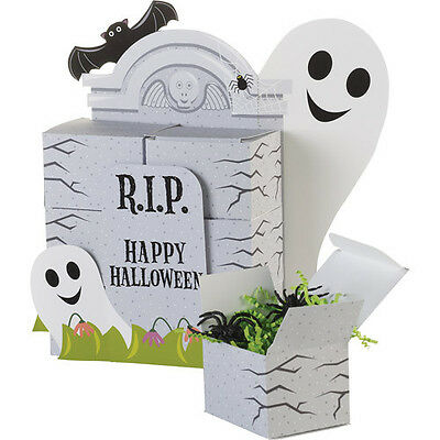 $11.50 • Buy Friendly Halloween Ghost Bat Bats Table Treat Party Gift Box 1 Display 12 Boxes