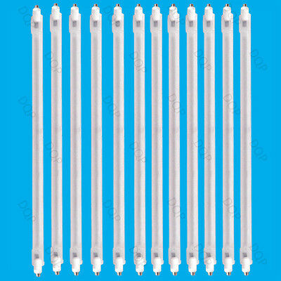 12x 400W Halogen Heater Replacement Tube 242mm Fire Bar Heater Lamp Element Bulb • 14.48£