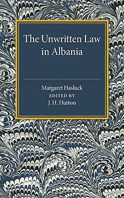 $ CDN60 • Buy Unwritten Law In Albania By Margaret Hasluck (English) Paperback Book Free Shipp