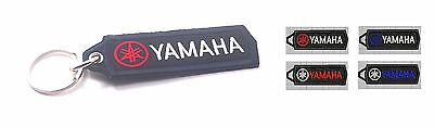 AU9.84 • Buy Yamaha Embroidered Patch Keychain Key Ring Motorcycle Racing Car 11x3.5 Cm P143