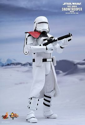 $ CDN301.29 • Buy Sideshow Hot Toys 12  MMS322 Star Wars First Order Snowtrooper Officer Figure