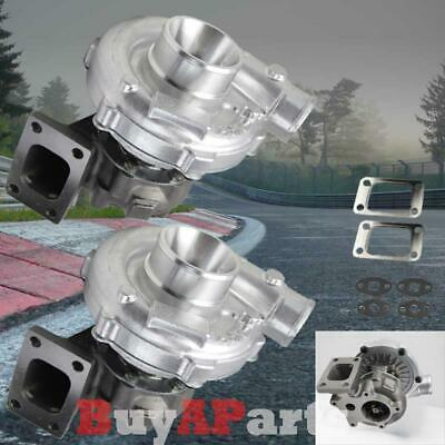 $299.99 • Buy 2x T04E T3/T4 .63 AR 50 Trim Compressor Turbo Charger 450+ HPS Boost Stage III/3