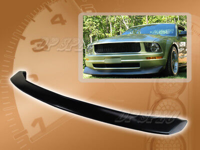 $127.95 • Buy For 05-09 Ford Mustang V6 Cv Style Front Bumper Lip Body Spoiler Kit Pu