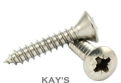 Self Tapping Screws 2.2 6mm-13mm Stainless No.2 Countersunk1//4-1//2in