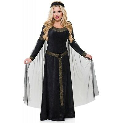 $ CDN56.64 • Buy Renaissance Lady Costume Adult Medieval Maiden Halloween Fancy Dress