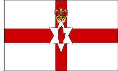 Northern Ireland Sleeved Flag Suitable For Boats 45cm X 30cm • 3.80£