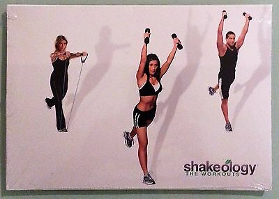 £14.55 • Buy SHAKEOLOGY THE WORKOUTS   DVD 2 Disc Set