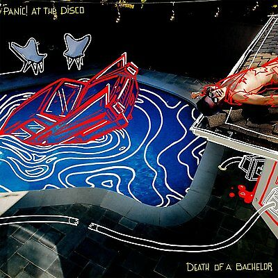 PANIC! AT THE DISCO DEATH OF A BACHELOR CD ALBUM (Released January 15th 2016) • 5.99£