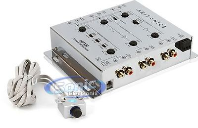 $ CDN69.77 • Buy New Hifonics Hfxr 3-way Crossover Remote Bass Audio Control & 8.5v Preamp Output