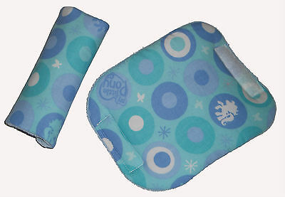 Baby My Little Pony Fabric Car Seat Pram Highchair Harness Cover Belt Pads X 2  • 7£
