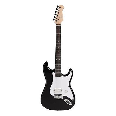 AU109 • Buy Artist EB2 Black Full Sized ST Style Electric Guitar - New
