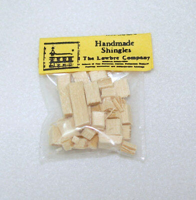 $3.95 • Buy Dollhouse Miniature Tiny Handcrafted Dollhouse Wood Roof Shingles Bag 1:12 Scale