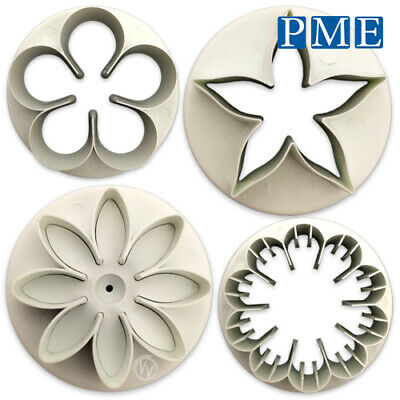 Icing Flower Cutter For Cake By PME – Daisy Petal Carnation Calyx For Sugarpaste • 12.23£