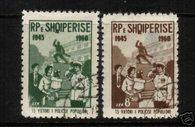$ CDN4.34 • Buy Albania 1960 Peoples Police  Set 2  Fu