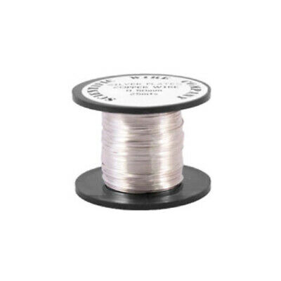 £3.39 • Buy Copper Craft Wire Silver 925 Plated 15M Coil 0.5mm Thick