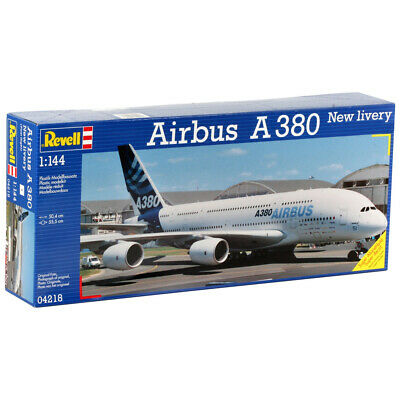 £26.99 • Buy Revell 04218 Airbus A380 New Livery Civillian Aircraft Plastic Model Kit 1/144