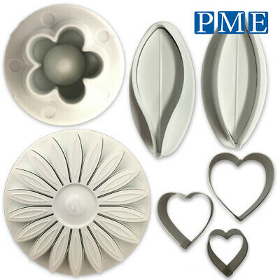 Icing Cutter Flower Cakes By PME – Lily Blossom Sunflower Heart For Sugarpaste • 6.11£