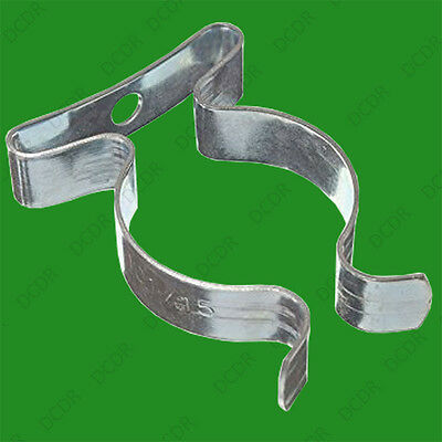 £2.74 • Buy 10x T5 Terry Clips 16mm 5/8 Inch Sprung Steel Tool / Tube Holder