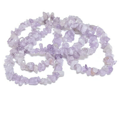 £3.89 • Buy Lilac Cape Amethyst Beads Chip 5-8mm Long Strand Of 240+